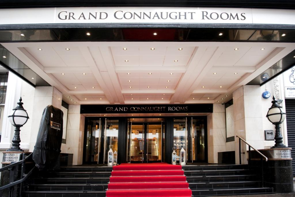 VENUEGrand Connaught Rooms, London